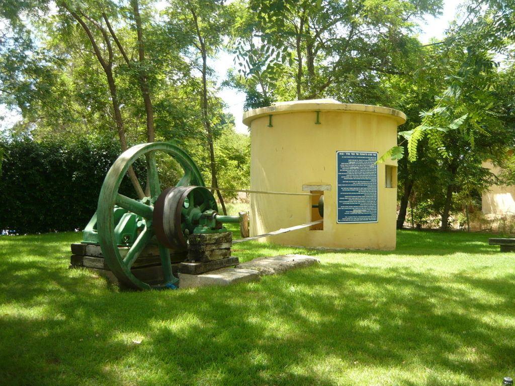 מוזיאון עין חי : מנועים