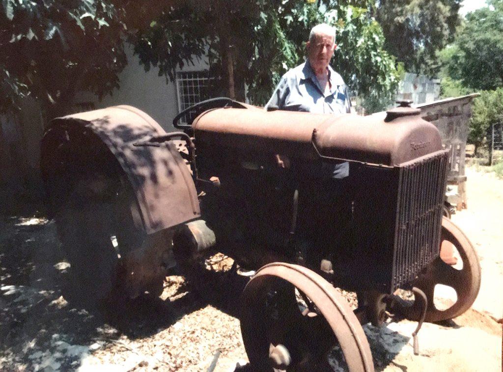 טרקטור פורדסון מודל 1920